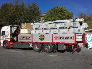 Bygmabilen, Scania P450 Euro6
