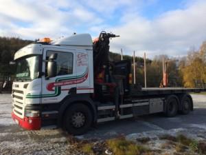 Lastväxlaren Scania P380